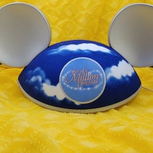 Disneyland Souvenir Ears Year of a Million Dreams